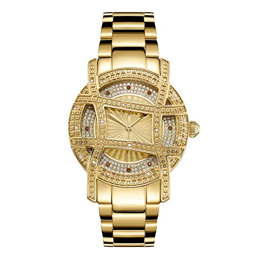 JBW Women's 10-Year Anniversary Olympia 0.20 ctw Diamond Wrist Watch with Stainless Steel Bracelet