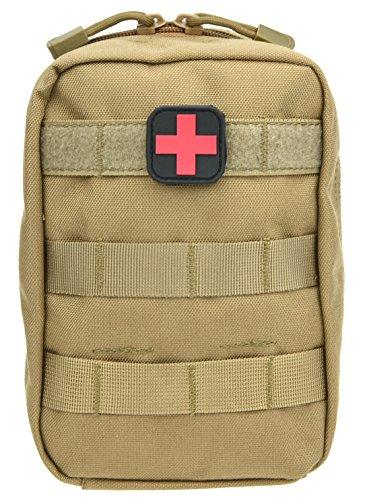 ArcEnCiel Tactical MOLLE EMT Medical First Aid IFAK Blowout Utility Pouch by ArcEnCiel