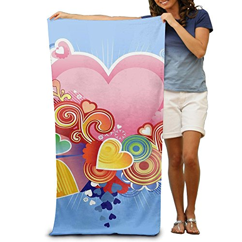 Unisex Bath Towels Velantines Day Towel Blanket Maximum Softness And Absorbency For Luxury Hotel & - Velantine Day