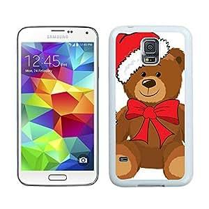 Hot Sell Christmas Bear White Samsung Galaxy S5 Case 3