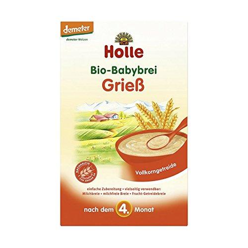 Holle Bio Babybrei Grieß, 2er Pack (2 x 250g)