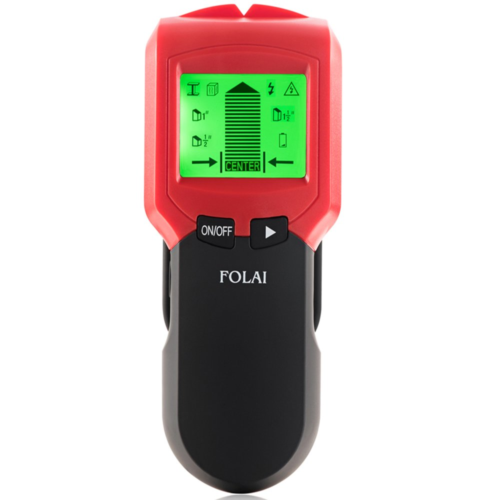 Stud Finders Multi-Scanner Stud Finder Multi Function Center-Finding Wall finder with Sound Warning for AC Wire, Metal, Wood,Wall Studs