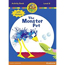 Jamboree Storytime Level B: The Monster Pet Activity Book with Stickers by Bill Laar (2011-09-01)