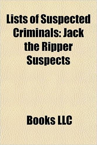 Pdf ebooks téléchargements recherche Lists of Suspected Criminals  115631366X