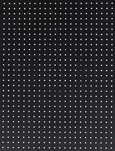 Wallpeg 4 Black Plastic Pegboard Panels 96 Wide
