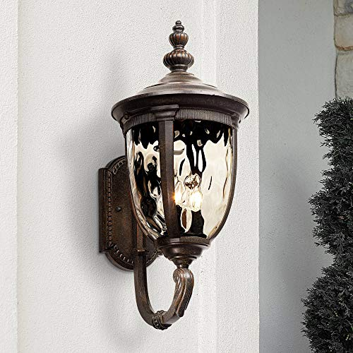Bronze Outdoor Medium Wall - Bellagio Outdoor Wall Light Fixture Bronze 21