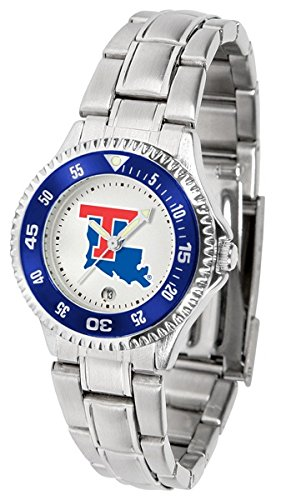 Louisiana Tech Bulldogs Competitor Steel Women's Watch (Sport Bulldogs Steel Watch Tech)