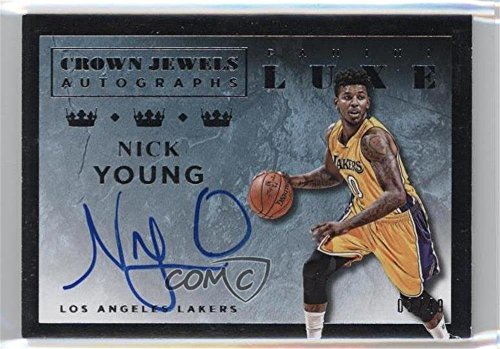 Nick Young #3/49 (Basketball Card) 2015-16 Panini Luxe - Crown Jewels Autographs #CJ-NYG