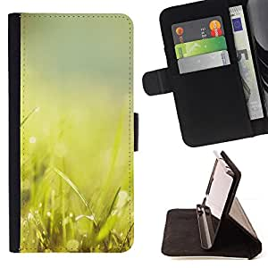 Jordan Colourful Shop - Green Grass Glow For Apple Iphone 5 / 5S - Leather Case Absorci???¡¯???€????€??????????&fno