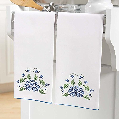 Buy herrschners cross stitch towel kit