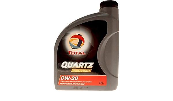 Total – Aceite para motor, bidón de 2 litros, Total Quartz Ineo First 0W-30 especial PSA 183104: Amazon.es: Coche y moto