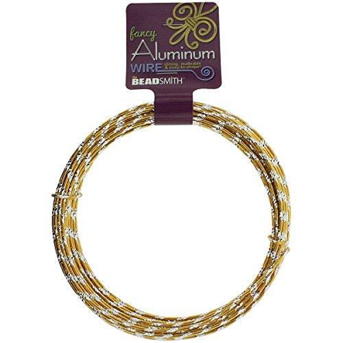 d Cut 12 Gauge 12 Meter/Pkg (39.25')-Gold (Cut Diamond Wire)