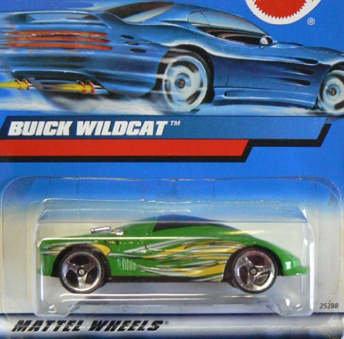 - #2000-183 Buick Wildcat Collectible Collector Car Mattel Hot Wheels 1:64 Scale