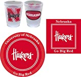 Westrick Nebraska Cornhuskers Party Supplies by 81 pieces