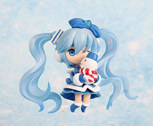 "3"" Nendoroid Vocaloid Hatsune Miku Magical Snow Ver Figure"