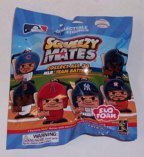 MLB SQUEEZY MATES SLO FOAM COLLECTIBLE MLB FIGURES BLIND BAG SEALED!