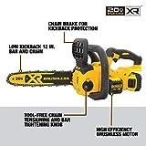 DEWALT 20V MAX XR Chainsaw Kit, 5-Ah