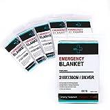 Always Prepared Heavy Duty Emergency Blankets (Pack of 6)...