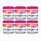 Bright Air Solid Air Freshener and Odor Eliminator,Island Nectar and Pineapple Scent, 14 Ounces,6 Pack