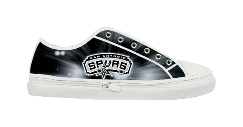 45a3beb857 low-cost San Antonio Spurs Logo Lady's Nonslip Canvas Shoes ...