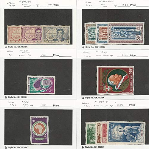 Niger, Postage Stamp, 84-6, 195, 220, C49, CB1-4 Mint NH, C38-40 LH, JFZ