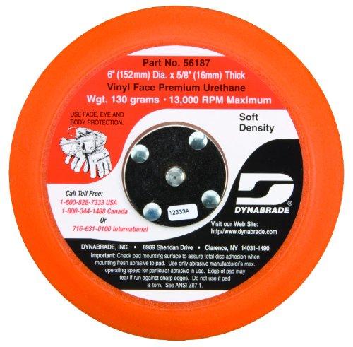 Dynabrade 56187 Non-Vacuum Disc Pad, 6-Inch Diameter