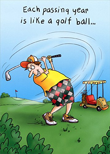 happy birthday golfer Amazon.: Man Golfing   Oatmeal Studios Funny Masculine  happy birthday golfer