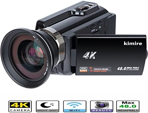 Amazon.com : 4K Camera WiFi Camcorder Kimire Ultra HD Digital Video