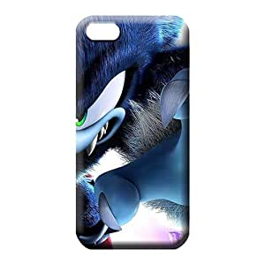 iphone 6plus 6p Excellent Protection phone Hard Cases With Fashion Design mobile phone carrying shells evil sonic the hedgehog