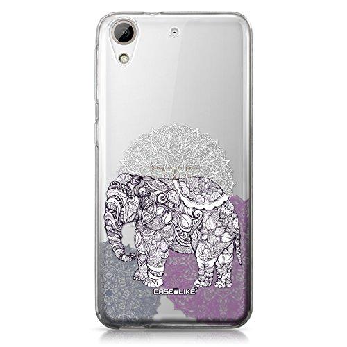 CASEiLIKE Funda HTC 826 , Carcasa HTC Desire 826, Arte de la mandala 2306, TPU Gel silicone protectora cover Arte de la mandala 2301