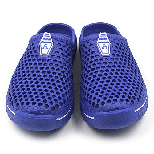 Blue Garden Amoji Clogs Shoes Sandals Slippers Unisex HxFqwAT