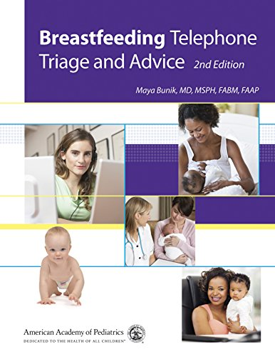 Breastfeeding Telephone Triage and Advice, 2nd Edition