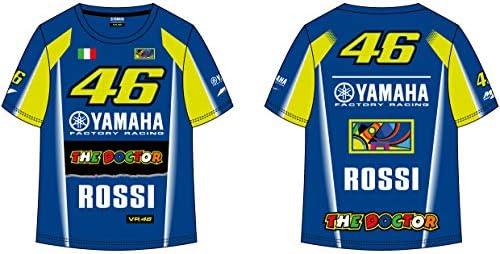 VR46 Camiseta Niño Kid Yamaha M1 Valentino Rossi TG. 3/4: Amazon ...