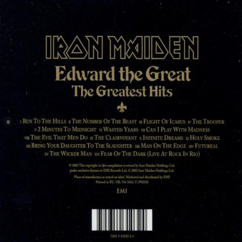 Edward The Great - The Greatest Hits by EMI