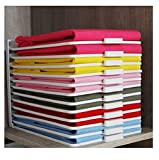 Roichen Easy Tray Closet Clothes Organizer Storage & Organization System 1 Set, Tray 30EA + Guide 3EA + Easy Folder 1EA(Gift)