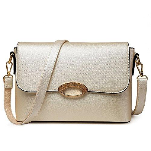 ZHRUI Sac Simple épaule Simple Petit Blanc de Sac Dames Dames Sud Diagonale et du Corée Japon carré Mode Nouveau rrPvqaH