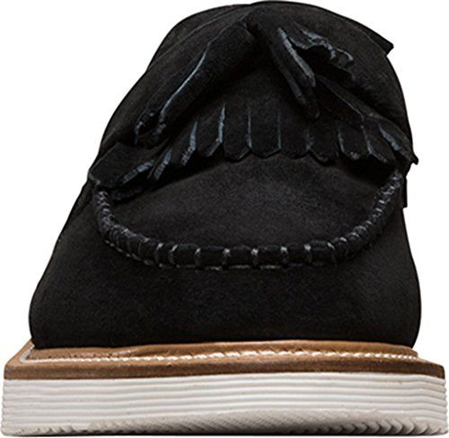 Martens Buck Soft Black Tassel Annah Women's Loafer Dr BdwqHUH
