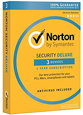 Norton Security Deluxe - 5 Devices