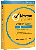 Software : Norton Security Deluxe - 3 Devices [Download Code]