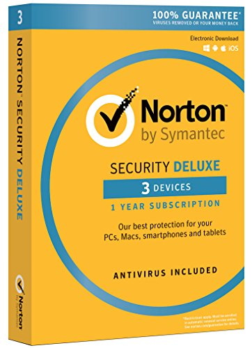 Norton Security Deluxe   3 Devices  Download Code