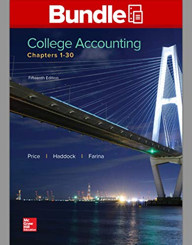 GEN COMBO COLLEGE ACCOUNTING CHAPTER 1-30; CNCT AC COLL ACCOUNTING