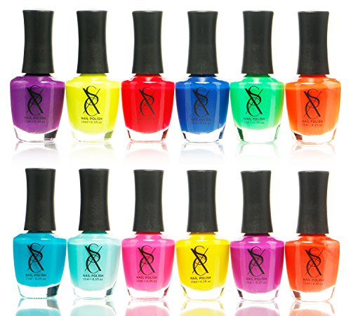 We Analyzed 2,997 Reviews To Find THE BEST Neon Nail Polish Set