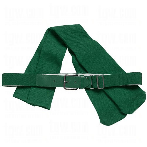 Twin City Multisport Belt & Socks Combo Small Dark Green