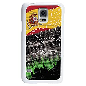 Spain Soccer Stadium Designer Case for Samsung Galaxy S5 - Black