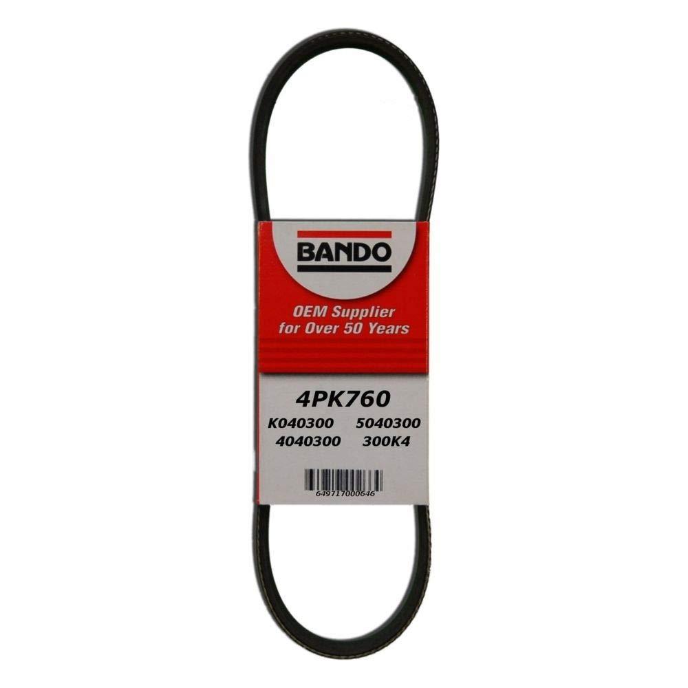 Bando 4PK870 OEM Quality Serpentine Belt