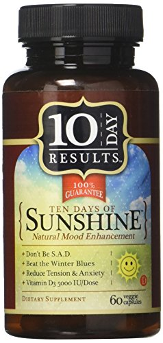 TEN DAY RESULTS 10 Days Of Sunshine 60 Capsules, 0.02 Pound