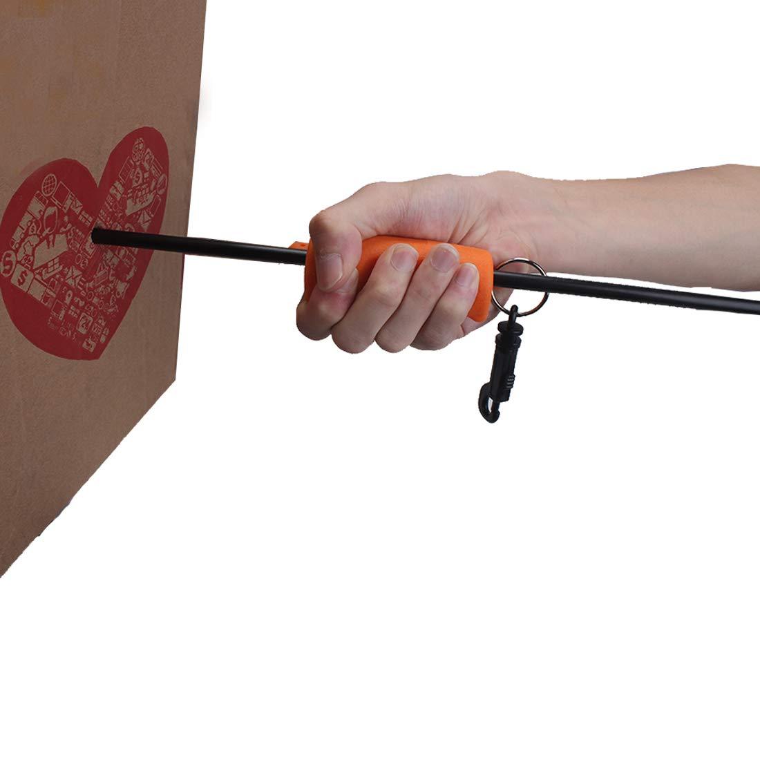 KRATARC Archery Arrow Puller Target Remover Rubber Gripper with Belt Clip