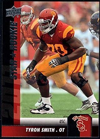 fa14b11d2 Amazon.com: Football NFL 2011 Upper Deck #147 Tyron Smith NM-MT ...