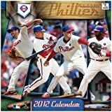 "Philadelphia Phillies 2012 Wall Calendar 12"" X 12"""