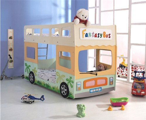 Etagenbett London Bus : Hochbett etagenbett fantasy bus amazon küche haushalt